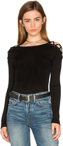 1 STATE Criss Cross Shoulder Sweater