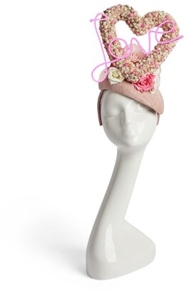 Victoria Grant Rose Heart Hat