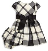 Ralph Lauren Baby's Two-Piece Plaid Taffeta Dress & Bloomers Set