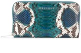 Orciani Naponos snakeskin-effect wallet