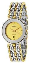 Rado Men's Florence 32mm Two Tone Steel Bracelet Swiss Quartz Watch R48743253