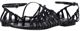 3.1 Phillip Lim Lily - Flat Sandal (Black) Women's Shoes