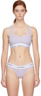 Calvin Klein Underwear Purple Modern Bralette