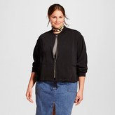 Who What Wear Women's Plus Size Bomber Jacket