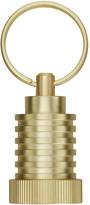 Tom Dixon Cog Keyring Pod - Brass
