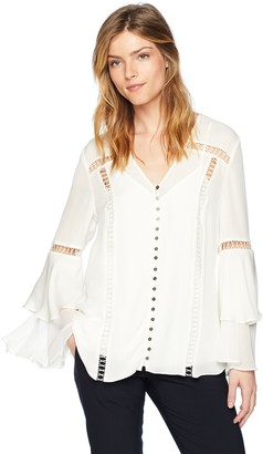 Haute Hippie Women's Golden Hour Blouse