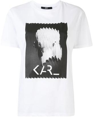 Karl Lagerfeld Paris Legend Print T-shirt