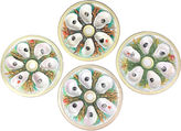 One Kings Lane Vintage Antique Oyster Plates, S/4