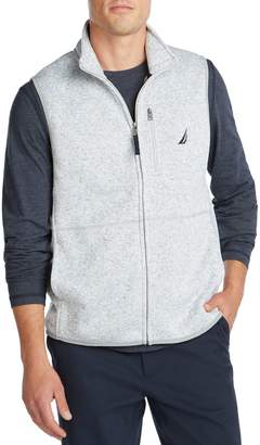 Nautica Classic-Fit Cotton-Blend Fleece Vest
