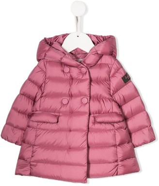 Il Gufo double-breasted padded coat