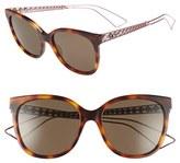 Christian Dior Diorama 55mm Cat Eye Sunglasses