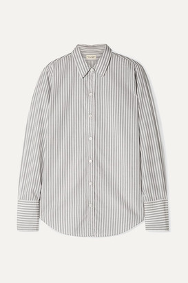 Nili Lotan Helen Striped Cotton-poplin Shirt
