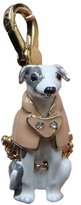Juicy Couture Greyhound Dog Wearing Trench Coat Charm