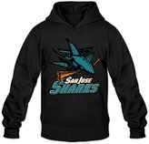 Sofia Men's San Jose Sharks Western Conference Champions Hoodies S