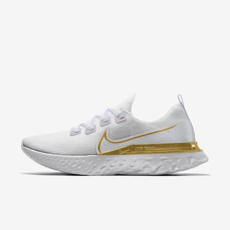 Nike Custom Men's Running Shoe React Infinity Run Flyknit By You