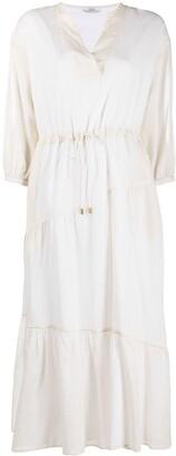 Peserico Drawstring Waist Dress