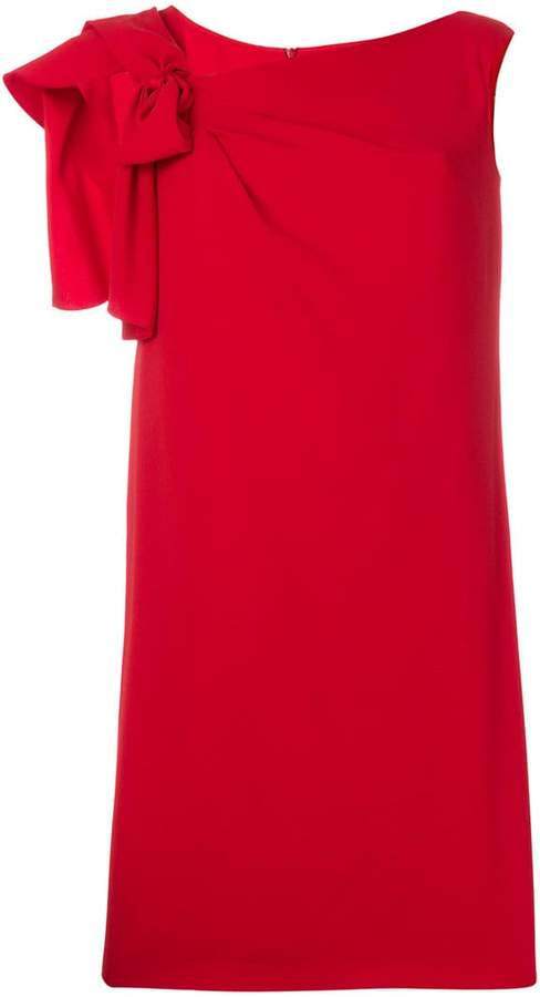 Max Mara bow shift dress