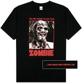 Impact Men's Zombie Full Color Poster T-Shirt