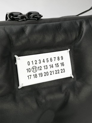 Maison Margiela Logo Plaque Shoulder Bag