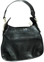 Gucci Hobo Black Leather Handbags