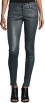 AG Jeans Skinny Leather Leggings, Sheer Gray