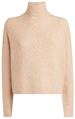 Fabiana Filippi Sequin Rollneck Sweater