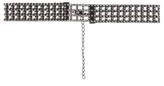 George Diamante Mesh Choker Necklace