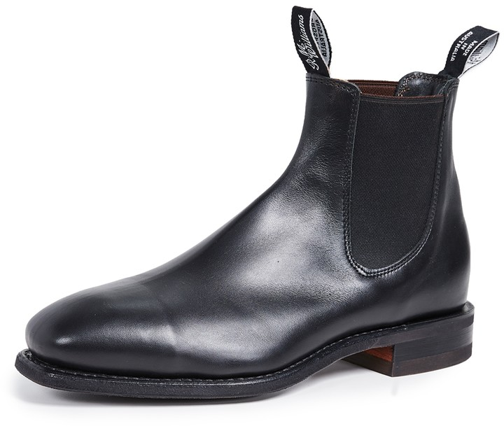 5a4008edb52 Comfort RM Leather Chelsea Boots