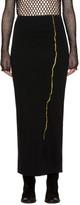 Haider Ackermann Black Nagel Skirt