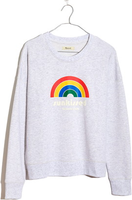 Madewell Sunkissed Beach Club Graphic Sweatshirt