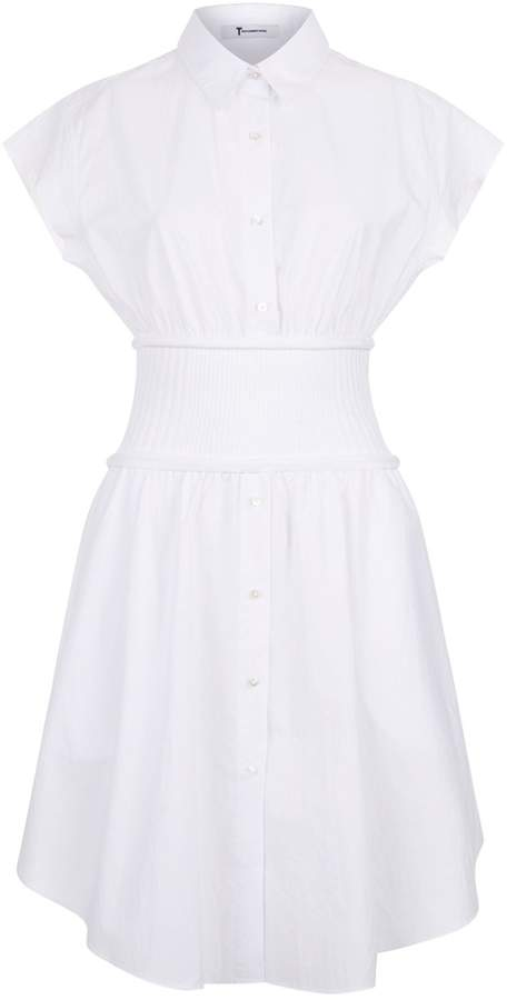 Alexander Wang Cotton Ribbed Dress