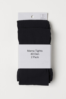 H&M MAMA 2-pack 40 Denier Tights