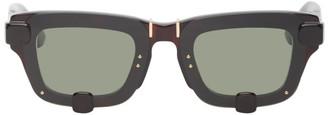 Y/Project Tortoiseshell Linda Farrow Edition Square Sunglasses