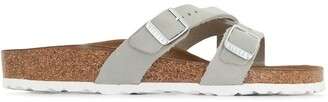Birkenstock Yao cross-strap sandals
