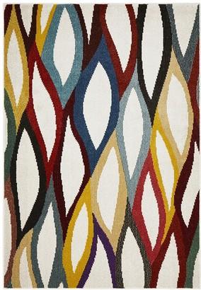Unitex International Ellis Modern Multi Coloured Rug