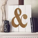 Cathy's Concepts Cathys concepts Rustic Ampersand Wood Wall Art