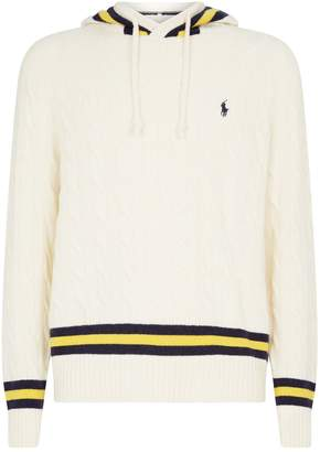 Polo Ralph Lauren Cable-Knit Hoodie