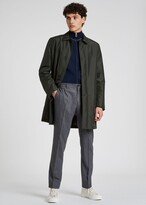 Thumbnail for your product : Paul Smith Men's Dark Green Recycled Polyester Wadded Mac