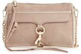 Rebecca Minkoff 'Mini Mac' Convertible Crossbody Bag - Black