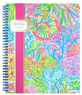 Lilly Pulitzer Lovers Coral Large Notebook