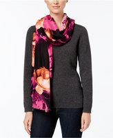 Calvin Klein Two-Toned Rose Wrap