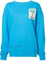 Enfants Riches Deprimes logo print sweatshirt - women - Cotton - XS