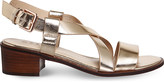 Office Midtown strappy metallic sandals