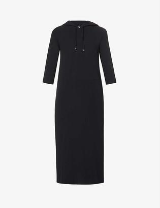Max Mara Opzione loose-fit stretch-cotton midi dress