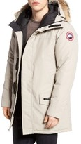 Canada Goose Men's Langford Slim Fit Down Parka With Genuine Coyote Fur Trim