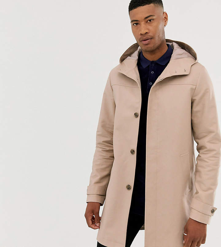 52f94c39e Asos Gray Men's Overcoats And Trenchcoats - ShopStyle