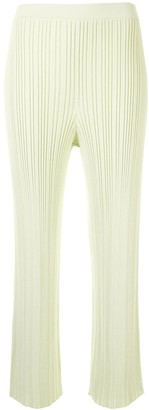 Dion Lee Ribbed Knit Trousers