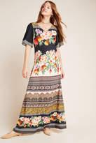Anthropologie Farm Rio for Esmeralda Floral Maxi Dress