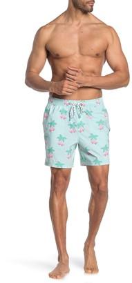 Party Pants Skate Palm Printed Board Shorts