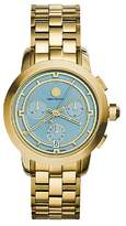 Tory Burch New Women's Authentic Tory Watch Gold Tone Chronograph 37 mm